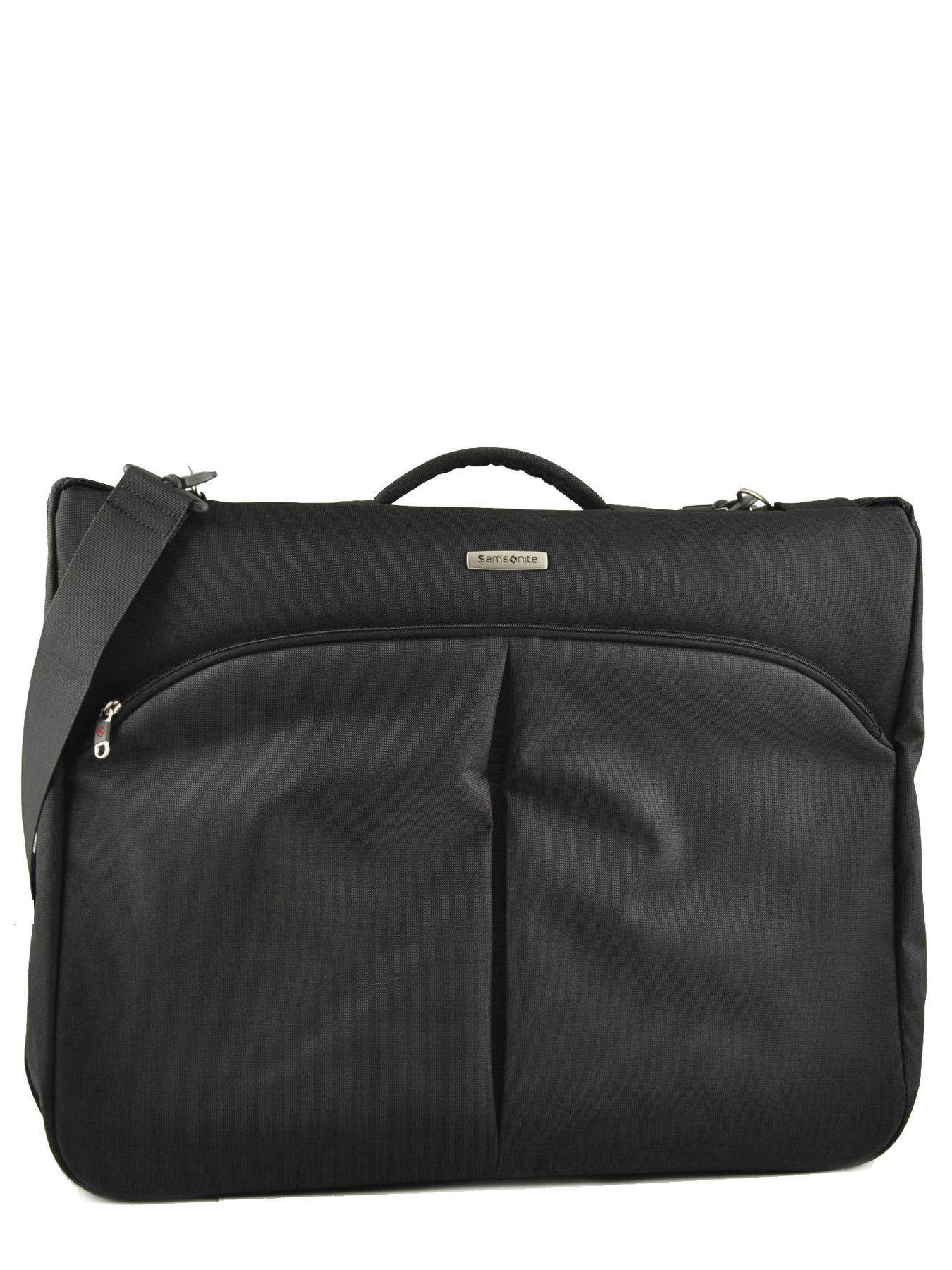 Porte habits samsonite noir cordoba duo v93010 for Porte habits
