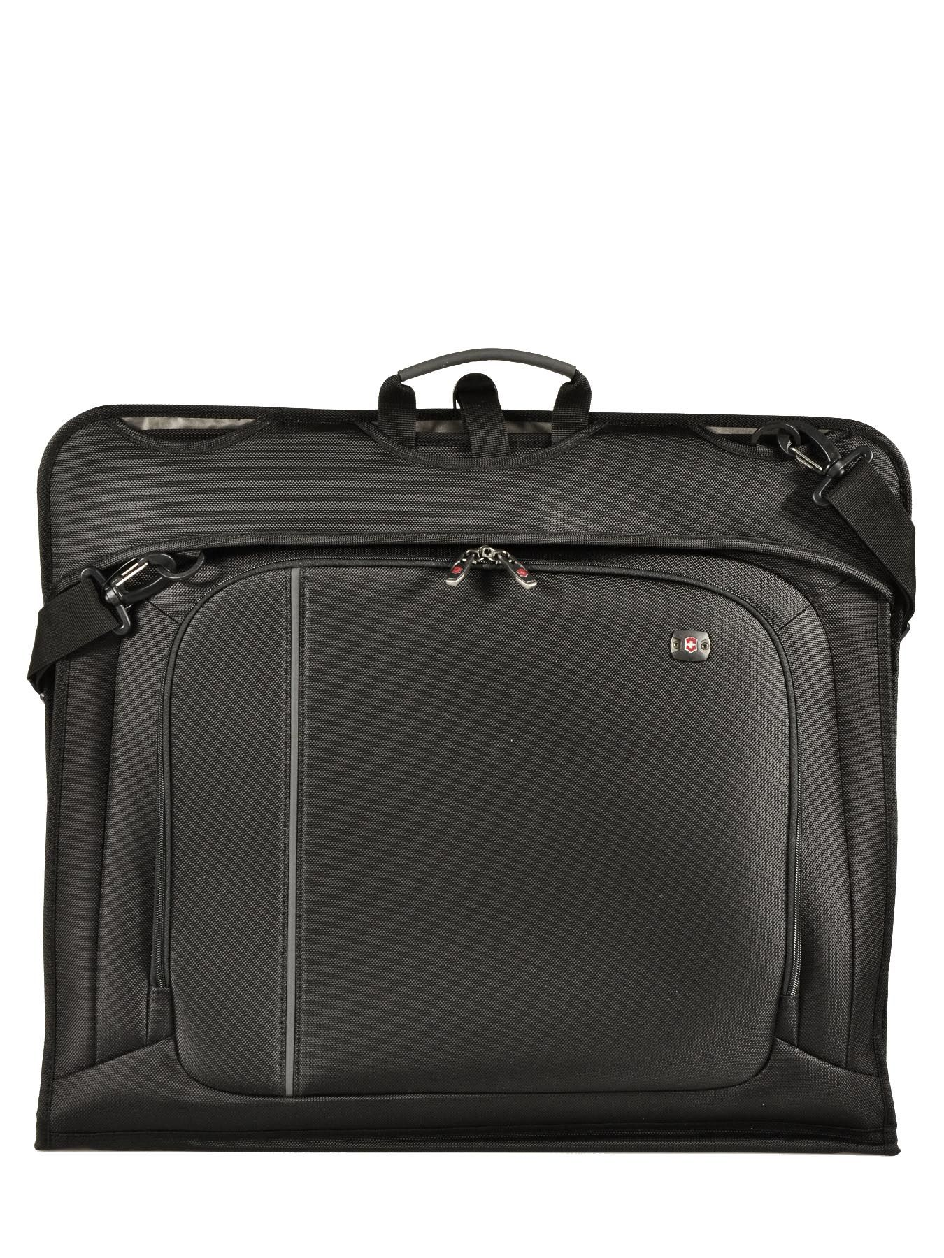 Porte habits victorinox black werks traveler 313013 for Porte habits