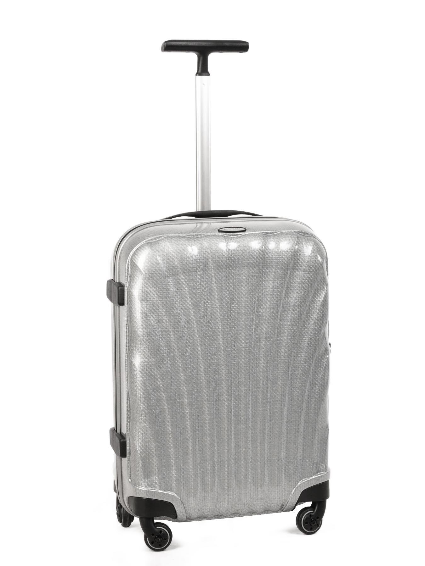 valise cabine samsonite silver cosmolite v22102. Black Bedroom Furniture Sets. Home Design Ideas
