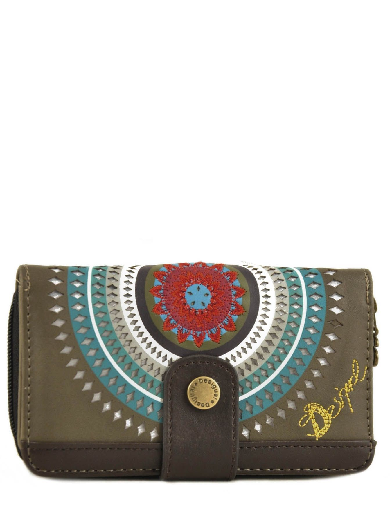 Wallet large choice and best prices for Portefeuille desigual