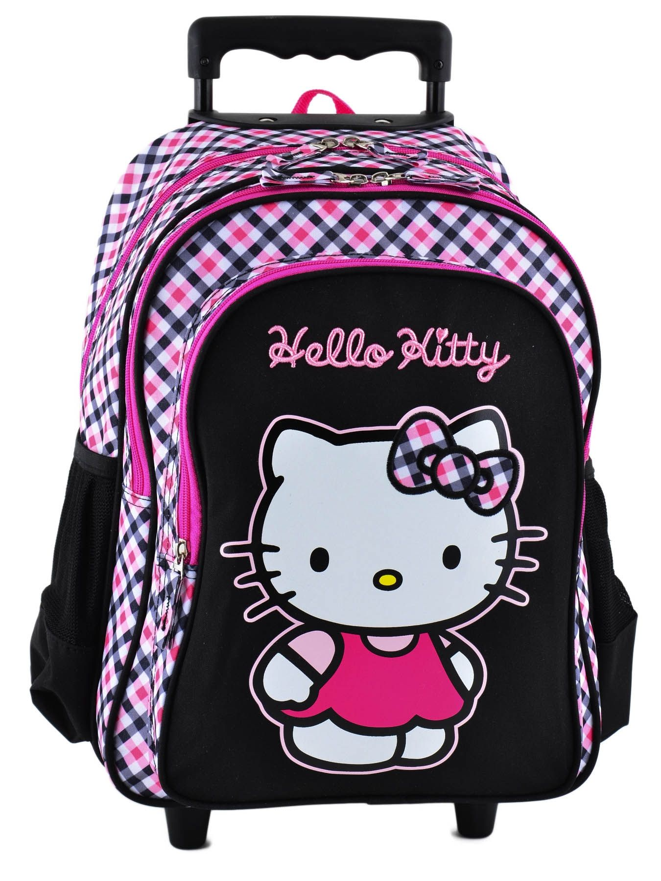 sac a dos roulettes hello kitty multicolor i college 15khk34. Black Bedroom Furniture Sets. Home Design Ideas