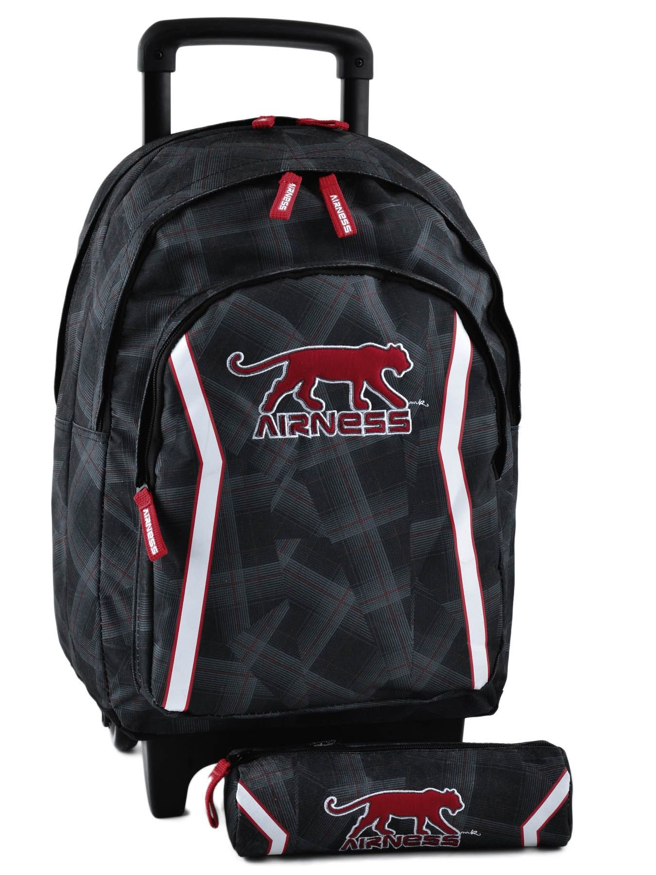 cute school bags sac ecole a roulette airness. Black Bedroom Furniture Sets. Home Design Ideas