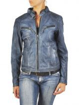Blouson Femme Basilic pepper Blauw basic and sport 00000024