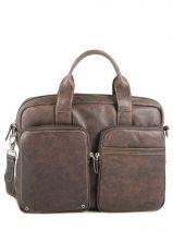 Briefcase Francinel Brown norman 655008