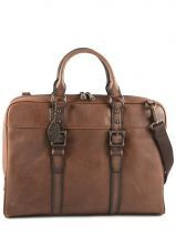 Porte Documents Cuir Fossil Marron estate MBG9093