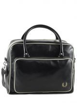 Bagage 48 Heures Fred perry Noir authentic L1182