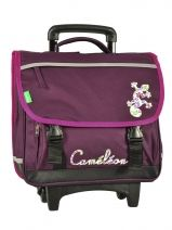 Cartable A Roulettes Cameleon Rose basic girl 13F2CA38