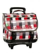 Cartable A Roulette 2 Compartiments Cameleon basic boy 13G2CA38