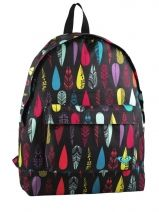 Sac A Dos A4 1 Compartiment Roxy Multicolore back to school WTWBA971