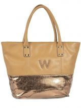 Shopping/cabas Moon Woomen Marron moon WMO004