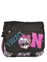 Messenger Bag Monster high Black be a monster MOH37111