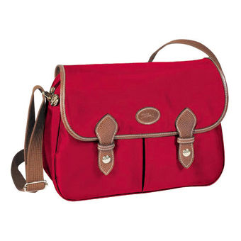 Longchamp Le pliage Sac porté travers Rouge
