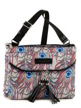 Sac Bandouli�re Basic Pompom Lancaster Multicolore basic pompom 514-31