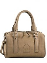 Polochon Beverly Cuir Etrier Marron beverly EBE003