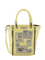 Shopping/cabas Picture Cuir Barbara rihl Jaune picture B2GIC