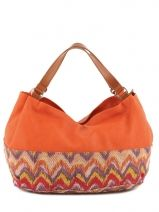 Sac Porte Epaule Mellow yellow Orange ethnic PRIKAT