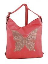 Sac Bandouliere/porte Travers Buterfly Miniprix Rose buterfly 20072