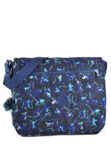Messenger Bag Kipling Blue back to school 15379