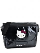 Sac Bandouliere Porte Travers Hello kitty Noir classic dot's HPR25147