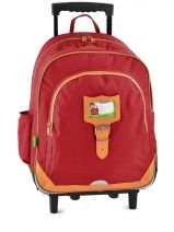 Sac A Dos 2 Compartiments Tann's Rouge kid classic 14TSDL