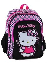 Sac A Dos 3 Compartiments Hello kitty Multicolore college PL15HK34