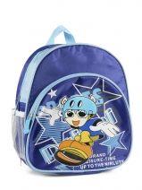 Sac A Dos 1 Compartiment Miniprix Bleu boy 7701-SKA
