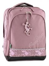 Sac A Dos 2 Compartiments Cameleon Rose basic girl 14F-BOR