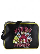 Sac Bandouliere Porte Travers Angry birds Noir agr AGR25354