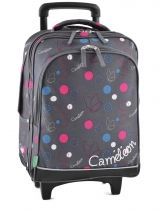 Sac A Dos A Roulettes 2 Compartiments Cameleon Multicolore basic girl 14F-2BOR