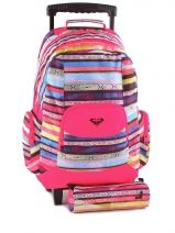 Sac A Dos A Roulettes 2 Compartiments + Trousse Roxy accessories ERLBP301