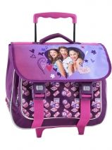 Cartable A Roulettes 1 Compartiment Violetta Multicolore friend's D114801