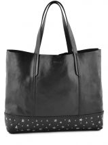 Sac Porte Epaule A4 Star The Eyes Cuir Diesel Noir star the eyes 901P0401
