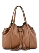 Purse Tradition Leather Etrier Brown tradition EHER001
