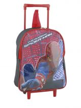 Sac A Dos A Roulettes Spiderman Blanc ultimate 14537