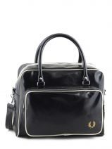 Travel Bag Authentic Fred perry Black authentic L5252