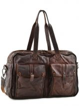 Briefcase Basilic pepper Brown rodeo 9769
