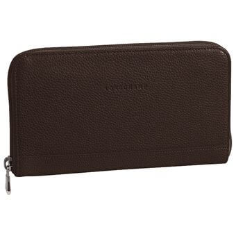 Longchamp Veau foulonné All-in-one Brown