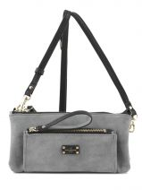 Trousse Paul's boutique Noir slouchy textured HOPSLT