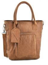 Shopper Sturdy Romance Leather Cowboysbag Brown sturdy romance 1625