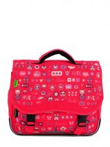 Cartable 1 Compartiment Tann's Rose fun girl 4FGCA35