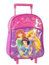 Sac A Dos A Roulettes 1 Compartiment Princess Blanc true princess 27907