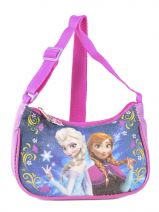 Shoulder Bag Frozen Violet anna et elsa 13402