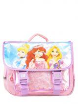 Satchel 2 Compartments Princess Pink smile 13608