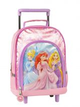 Sac A Dos Roulette 1 Compartiment Princess Pink smile 13611