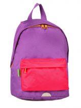 Sac A Dos 1 Compartiment Tann's Violet kid classic 4CLSDS