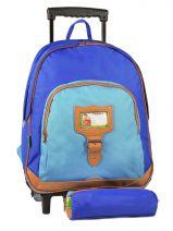 Backpack Tann's Blue kid classic 4CLTSDL