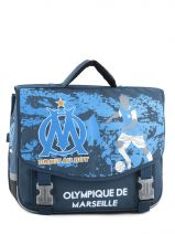 Cartable 2 Compartiments Olympique de marseille Blue om 153O203S