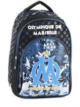 Sac A Dos 2 Compartiments Olympique de marseille Bleu om 153O204S
