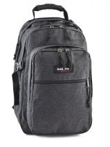 Backpack 2 Compartments + 15'' Pc Eastpak Gray K955
