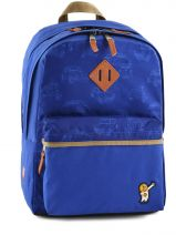 Backpack 2 Compartments Ddp Blue blue car BOR-BO1
